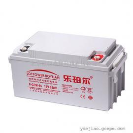 乐珀尔蓄电池6-GFM-65/代理商现货销售12V65Ah直流屏蓄电池报价