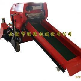 云南全自动青贮打捆机 全自动玉米秸秆打包机厂家