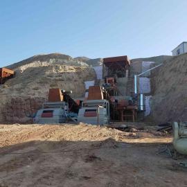河南恒硕磁选设备厂专为客户定做铁矿干选设备生产线