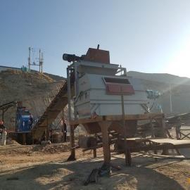 大型铁矿干选设备 磁铁矿干选机生产线