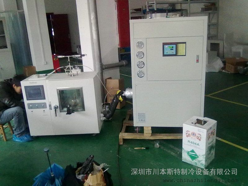 冷却输送带(定制输送线物料快速降温设备)应用案例