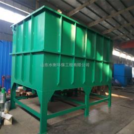 斜管沉淀池生产厂家 电镀废水处理设备 碳钢防腐 高效沉淀