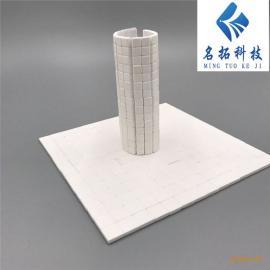 粘贴型高纯氧化铝耐磨陶瓷片 陶瓷贴片