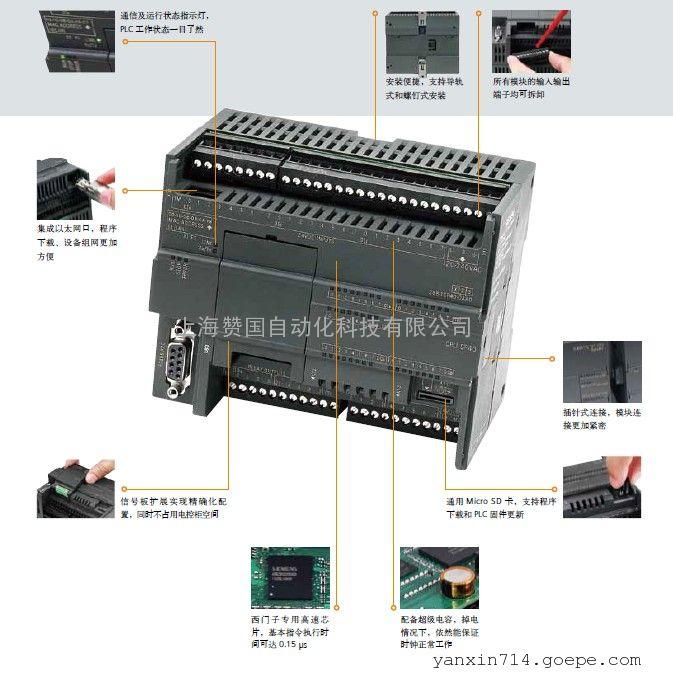 西门子EMDR16数字输入输出模块