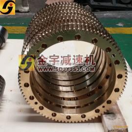 小模数精密蜗轮蜗杆可来料来图加工 厂家直销