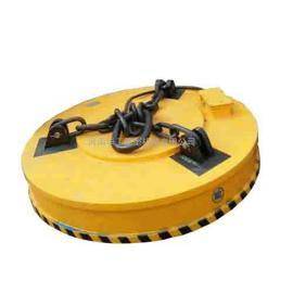 起重高频/强磁电磁吸盘 φ120废铁渣圆形电磁铁 可定做