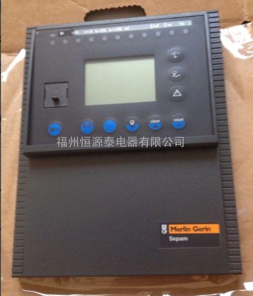 单晶体面板Sepam-T20 T40 G40施耐德微机综保
