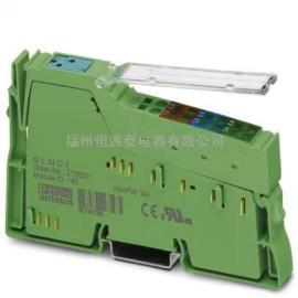 菲尼克斯模块IB IL AO2/U/BP-PAC