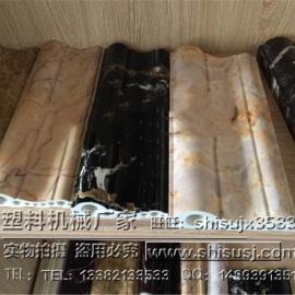 PVC石塑装饰线条生产线