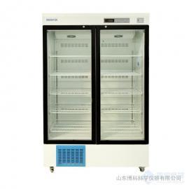 医用冷藏箱2-8℃立式双开门医用药品冷藏箱