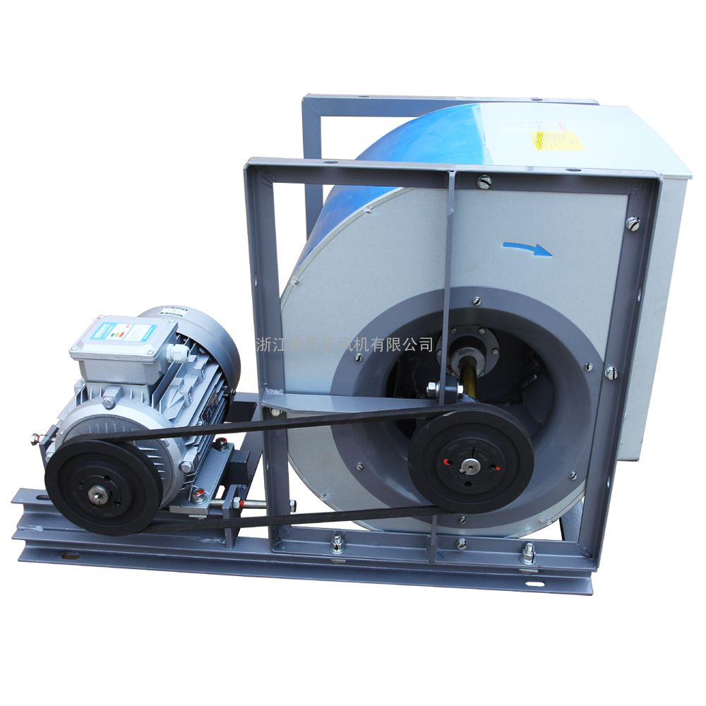 LKQ后向单板型离心风机暖通空调净化通风设备新镀锌板排风机