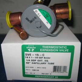 SVE-15-C/SVE-10-CP100 SPORLAN斯波兰S型热力膨胀阀
