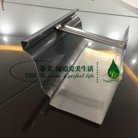 屋檐檐沟 铝合金成品天沟 彩铝雨水管