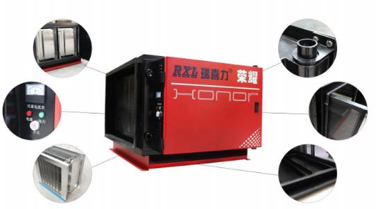 北京瑞喜力荣耀新系列油烟净化器