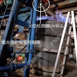 钢厂大包、中间包煤气熄火检测装置BWBQ-13安全联锁控制燃气阀门