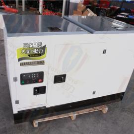 水冷15kw静音柴油发电机