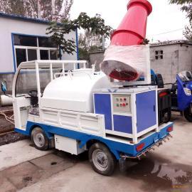 厂家直销电动雾炮四轮洒水车 小型工地洒水 环卫专用电动洒水车