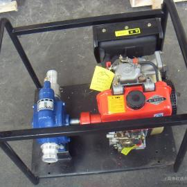 DKYB65-32-25柴油机驱动移动式自吸滑片泵滑板泵