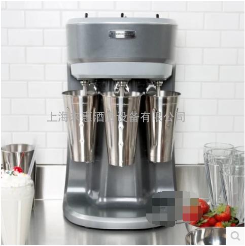美国咸美顿 商用三头奶昔机 奶茶搅拌机 Hamilton Beach HMD-400
