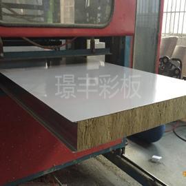 苏州�Z丰100岩棉企口夹芯板厂家批发价格