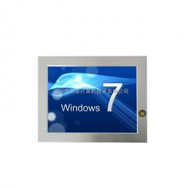 WIN7系统嵌入式无风扇10.4寸工业平板电脑