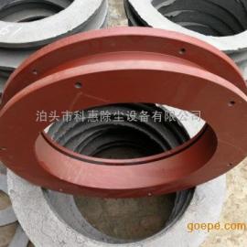 管道旋转轴承,除尘管道轴承,科惠厂家制作双法兰管道轴承产品