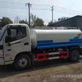 福田牌时代小卡国五标准5立方洒水车4立方除尘雾炮车厂家直销