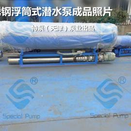 水库排水浮筒式潜水泵