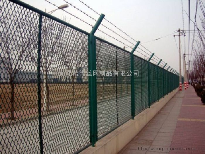 钢板网护栏_钢板网护栏多少钱_菱形孔钢板网护栏 厂家|价格
