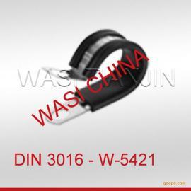 DIN3016橡胶喉箍管卡_万喜紧固件