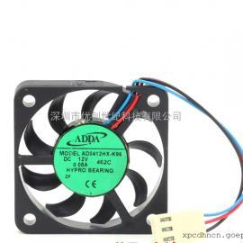 全新ADDA AD0412HX-K96 4006 4CM 12V 0.08A 超薄静音散热风扇