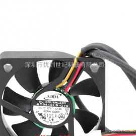 全新ADDA AD0512LB-G70 12V 0.10A 5CM 5010 双滚珠静音散热风扇