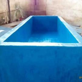 广西梧州内衬玻璃钢防腐现场施工