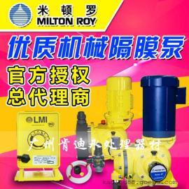 供应美国米顿罗GM0050PR1MNN机械隔膜计量泵 可选双隔膜泵头结构