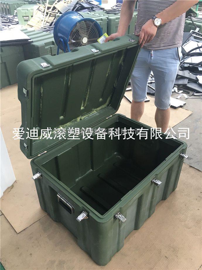 野外作战空投箱/军绿滚塑/806070空投箱/军用工具箱