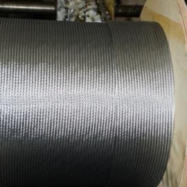 高强度耐磨钢丝线钢索 起重牵引钢丝绳 6股37丝直径37钢丝绳