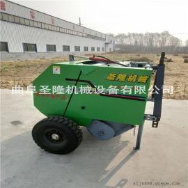全自动秸秆打捆机 行走式麦草打捆机厂家
