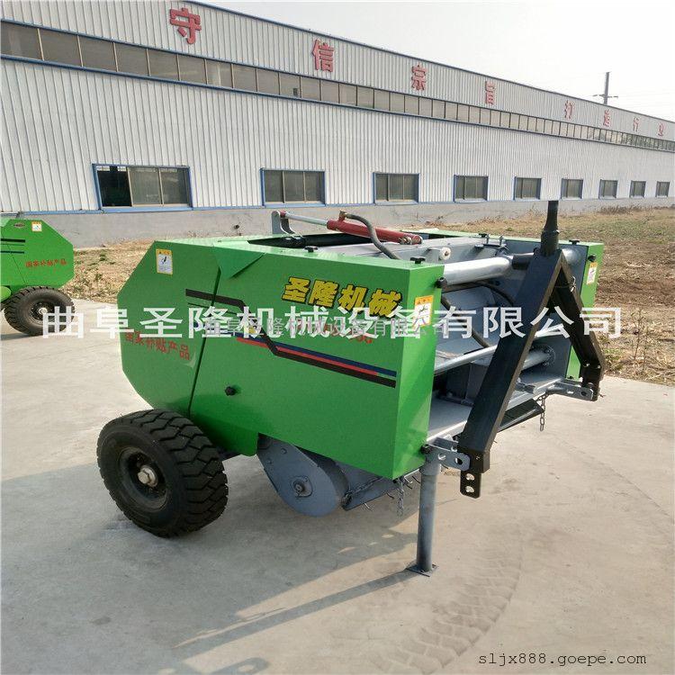 圆草捆捡拾打捆机农机补贴 全自动打捆机厂家