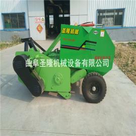 收割苞米秆粉碎打捆机 新型秸秆打捆机价格
