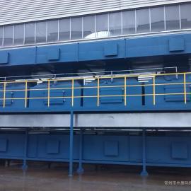 涂装线烘干房废气处理方案 催化燃烧设备RCO/RTO厂家【中康环保】
