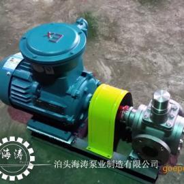 YCB不锈钢圆弧齿轮泵高新技术,海涛专注20年