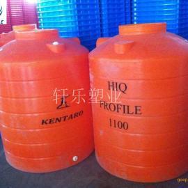 加厚可定制 化工储罐0.8吨 塑料水槽800L耐酸碱pe防腐水箱