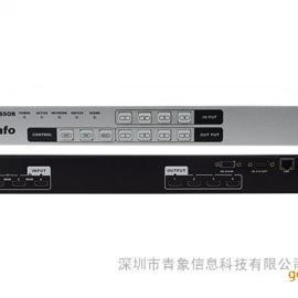 深圳手机APP控制视频矩阵_青云HDMI 4进4出手机APP控制视频矩阵