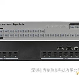 深圳网络中控矩阵-青云HDMI 10进18出网络中控矩阵