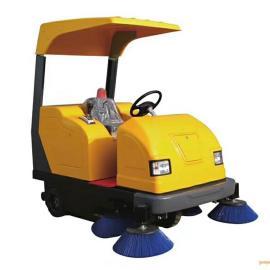 驾驶式电动扫地机AJ-1980SD电瓶式清扫车扫路车