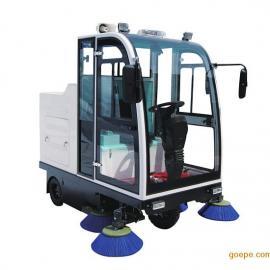爱尔洁AJ-2000BSD驾驶式半封闭扫地机电动电瓶式扫地车清扫车