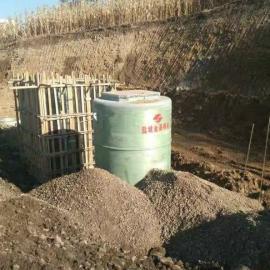 辽宁一体化预制泵站工厂统一生产组装