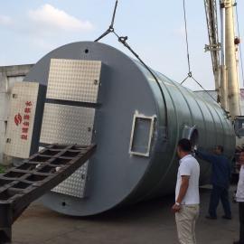 白沙大桥排放口一体化污水泵站详见技术图纸
