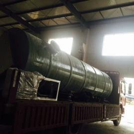 成都一体化预制泵站管路均在工厂完毕