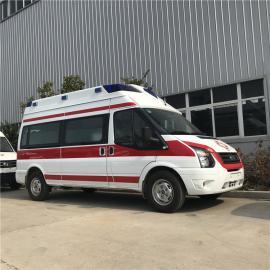 新世代V348长轴救护车价格 福特监护型配置急救车 120救护车价格